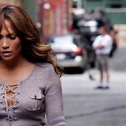 """The Backup Plan"" Films in Tribeca with Jennifer Lopez"