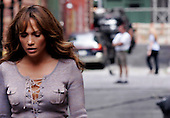 """The Backup Plan"" Films in Tribeca with Jennifer Lopez"