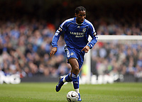 Photo: Rich Eaton.<br /> <br /> Chelsea v Arsenal. Carling Cup Final. 25/02/2007. Didier Drogba who scored the equalizer for Chelsea to make the score 1-1