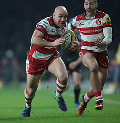 December 27, 2016 - London, England, United Kingdom - Willi Heinz of Gloucester during Aviva Premiership Rugby match between Harlequins and Gloucester Rugby at The Twickenham Stadium, London on 27 Dec 2016  (Credit Image: © Kieran Galvin/NurPhoto via ZUMA Press)