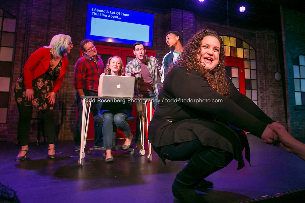 2/18/16 9:37:41 PM -- The Second City Presents<br /> #DateMe an OK Cupid Experiment<br /> <br /> &copy; Todd Rosenberg Photography 2016