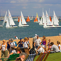 Cowes Week 2007 The Green, Isle of Wight Photographs of the Isle of Wight by photographer Patrick Eden photography photograph canvas canvases