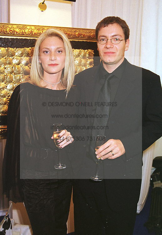 MR & MRS SIMON SUGAR he is the son of Sir Alan Sugar, at a party in London on 16th March 2000.OCC 96<br /> © Desmond O'Neill Features:- 0208 971 9600<br />    10 Victoria Mews, London.  SW18 3PY  photos@donfeatures.com
