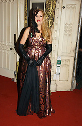 JERRY HALL at the 2006 Moet & Chandon Fashion Tribute in honour of photographer Nick Knight, held at Strawberry Hill House, Twickenham, Middlesex on 24th October 2006.<br />