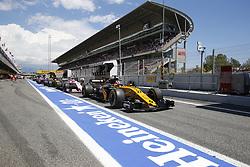 May 14, 2017 - Barcelona, Spain - Motorsports: FIA Formula One World Championship 2017, Grand Prix of Spain, .#27 Nico Hulkenberg (GER, Renault Sport F1 Team) (Credit Image: © Hoch Zwei via ZUMA Wire)
