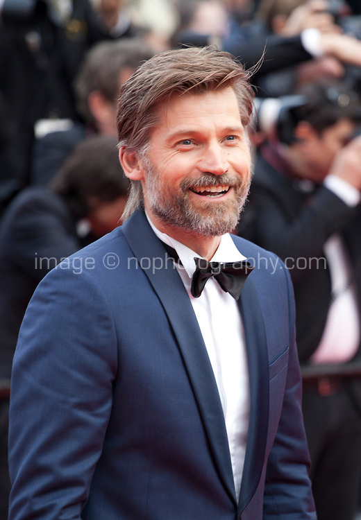 Actor Nikolaj Coster-Waldau at the Le Grand Bain (Sink Or Swim) gala screening at the 71st Cannes Film Festival, Sunday 13th May 2018, Cannes, France. Photo credit: Doreen Kennedy