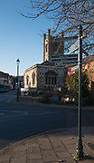Henley, Oxfordshire. England General View; Henley Town,  England General View; The Parish Church of St. Mary the Virgin, from Henley Bridge. Thursday  01/12/2016<br /> © Peter SPURRIER<br /> LEICA CAMERA AG  LEICA Q (Typ 116)  f1.7  1/4000sec  35mm  7.7MB