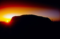 Sunrise, Ayers Rock, Uluru National Park, Northern Territory, Australia