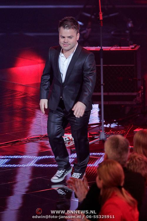 NLD/Hilversum/20120120 - Finale the Voice of Holland 2012, Roel van Velzen