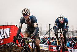 Cooper WILLSEY of USA during the Men Under 23 race, UCI Cyclo-cross World Championship at Bieles, Luxembourg, 29 January 2017. Photo by Pim Nijland / PelotonPhotos.com | All photos usage must carry mandatory copyright credit (Peloton Photos | Pim Nijland)