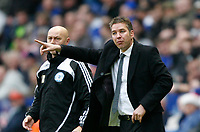Photo: Steve Bond/Richard Lane Photography. Leicester City v Peterborough United. Coca-Cola Football League One. 20/12/2008. Darren Ferguson issues orders