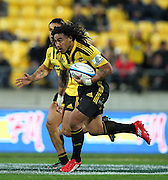 Hurricanes Ma'a Nonu on the attack. Investec Super 15 rugby match - Hurricanes v Lions, at Westpac Stadium, Wellington, New Zealand on Saturday 4 June 2011. Photo: Justin Arthur / photosport.co.nz