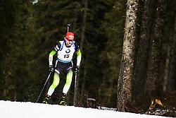 Jakov Fak (SLO) during the Mass Start Men 15 km at day 4 of IBU Biathlon World Cup 2019/20 Pokljuka, on January 23, 2020 in Rudno polje, Pokljuka, Pokljuka, Slovenia. Photo by Peter Podobnik / Sportida