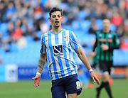 Ruben Lameiras during the Sky Bet League 1 match between Coventry City and Rochdale at the Ricoh Arena, Coventry, England on 5 March 2016. Photo by Daniel Youngs.