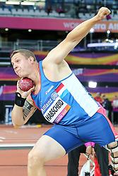 22.07.2017, Olympia Stadion, London, GBR, Leichtathletik WM der Behinderten, im Bild Tom Habscheid (LUX, F42) // Tom Habscheid (LUX, F42) // during the World Para Athletics Championships at the Olympia Stadion in London, Great Britain on 2017/07/22. EXPA Pictures © 2017, PhotoCredit: EXPA/ Eibner-Pressefoto/ Eibner-Pressefoto<br /> <br /> *****ATTENTION - OUT of GER*****