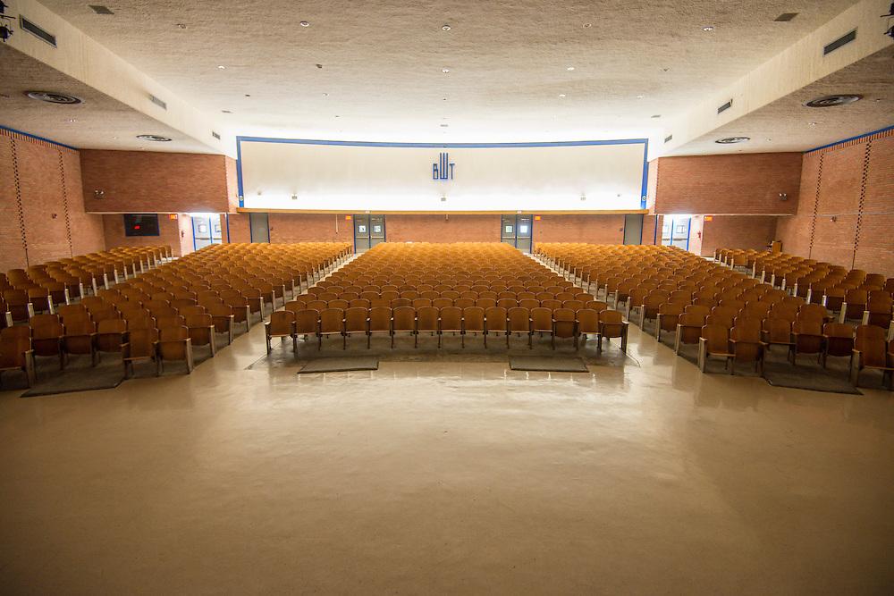 The current Booker T. Washington High School auditorium.