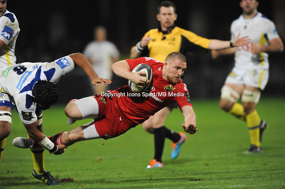 Andrew SMITH - 14.12.2014 - Clermont / Munster - European Champions Cup <br /> Photo : Jean Paul Thomas / Icon Sport