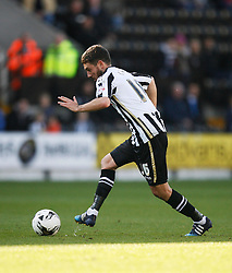 Liam Noble of Notts County in action - Mandatory byline: Jack Phillips / JMP - 07966386802 - 11/10/2015 - FOOTBALL - Meadow Lane - Nottingham, Nottinghamshire - Notts County v Plymouth Argyle - Sky Bet Championship