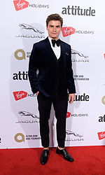 EDITORIAL USE ONLY<br /> Oliver Cheshire attends the Virgin Holidays Attitude Awards at the Roundhouse, London.