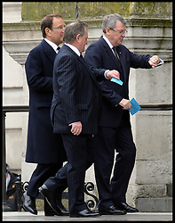 Lynton Crosby attends Lady Thatcher's funeral at St Paul's Cathedral following her death last week, London, UK, Wednesday 17 April, 2013, Photo by: Andrew Parsons / i-Images