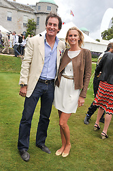 TIM & MALIN JEFFERIES at a luncheon hosted by Cartier for their sponsorship of the Style et Luxe part of the Goodwood Festival of Speed at Goodwood House, West Sussex on 1st July 2012.