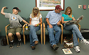 NEWS&GUIDE PHOTO / PRICE CHAMBERS.Waiting is the name of the game for the Marshall family as the time for his PET/CT scan approaches. The scan will determine how efective his previous chemotherapy treatments have been..