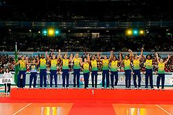 23-08-2009 VOLLEYBAL: WGP FINALS CEREMONY: TOKYO <br /> Brazilie wint de World Grand Prix 2009 <br /> ©2009-WWW.FOTOHOOGENDOORN.NL