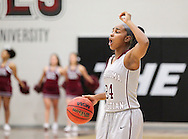 November 7, 2015: The York College Panthers play against the Oklahoma Christian University Lady Eagles in the Eagles Nest on the campus of Oklahoma Christian University.