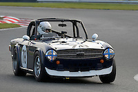 #78 David McDonald Triumph TR6 2600 during the CSCC Adams and Page Swinging Sixties at Oulton Park, Little Budworth, Cheshire, United Kingdom. October 15 2016. World Copyright Peter Taylor/PSP. <br /> Copy of publication required for printed pictures.  Every used picture is fee-liable. http://archive.petertaylor-photographic.co.uk