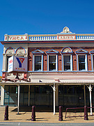 The YMCA building along Tay Street, Invercargill, New Zealand