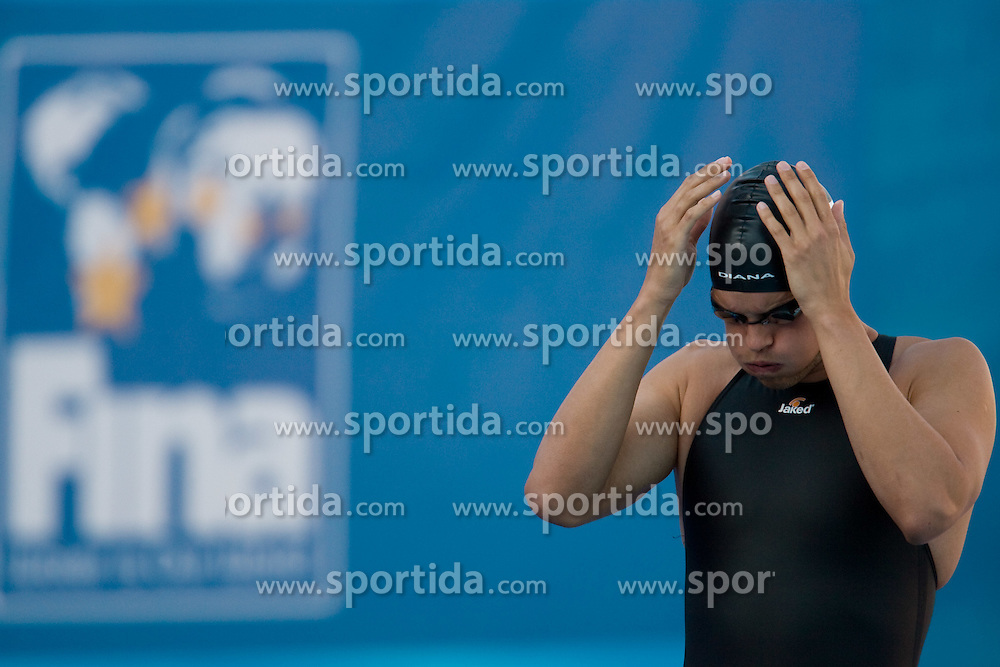 Matjaz Markic of Slovenia competes during the Men's 50m Breaststroke Final during the 13th FINA World Championships Roma 2009, on July 29, 2009, at the Stadio del Nuoto,  in Foro Italico, Rome, Italy. (Photo by Vid Ponikvar / Sportida)