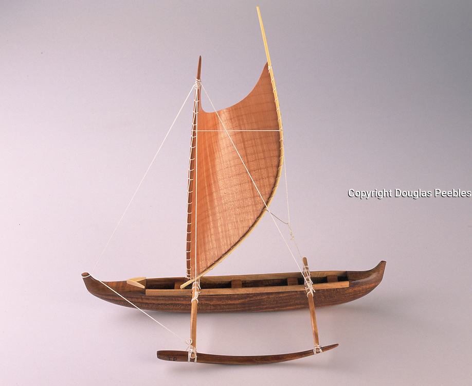 Polynesian Sailing Canoe<br />