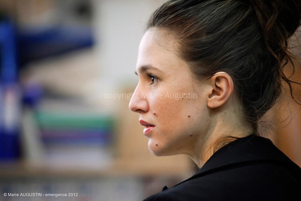 Fanny IMBER, comédienne - tournage scène imposée de Benoît BOURREAU - emergence 2012