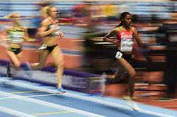 March 2, 2018 - Birmingham, England, United Kingdom - Beatrice Chepkoech ofKenya at 1500 meter semi final at World indoor Athletics Championship 2018, Birmingham, England on March 2, 2018. (Credit Image: © Ulrik Pedersen/NurPhoto via ZUMA Press)