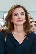 Queen Rania Visits QRTA, Amman