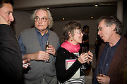 DAVID ELLIOT , VAL HENESSY AND IAN MCEWAN, party to celebrate the 100th issue of Granta magazine ( guest edited by William Boyd.) hosted by Sigrid Rausing and Eric Abraham. Twentieth Century Theatre. Westbourne Gro. London.W11  15 January 2008. -DO NOT ARCHIVE-© Copyright Photograph by Dafydd Jones. 248 Clapham Rd. London SW9 0PZ. Tel 0207 820 0771. www.dafjones.com.