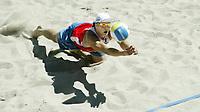 Volleyball, Sandvolleyball, World Tour Stavanger, Grand Slam, 30/06-05, <br />Ivar Horrem,<br />Foto: Halvard Hofsmo, Digitalsport