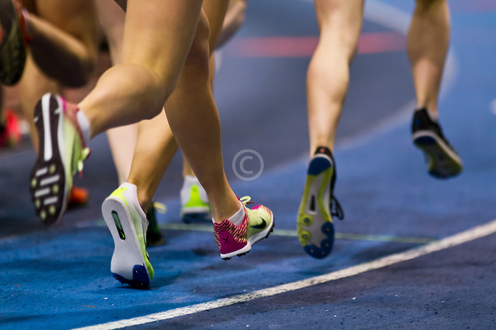 New Balance Indoor Grand Prix track meet: Junior GIrls Mile,