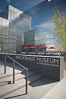 Anchorage Museum at Rasmuson Center in downtown Anchorage, Alaska, june 26, 2009