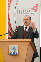 The Science and Technology Festival programme was launched at NUI, Galway  by Mr. William Hawkins, Chairman and CEO of Medtronic Inc., who employ 2000 people in Ireland and 44,000 worldwide in the Medical devices sector. The Festival runs from the 8th till the 21st of November in County Galway. Photo:Andrew Downes.