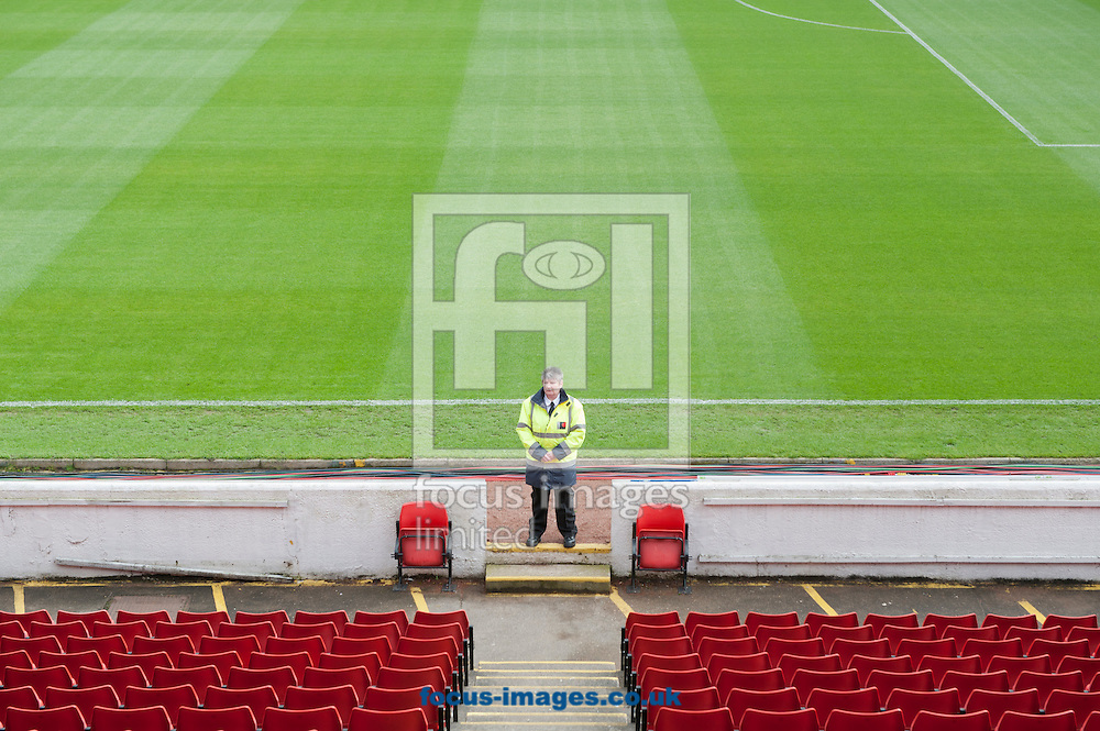 A general view of the stadium before the Sky Bet League 1 match at Oakwell, Barnsley<br /> Picture by Russell Hart/Focus Images Ltd 07791 688 420<br /> 12/10/2014