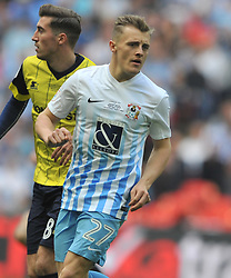 GEORGE THOMAS COVENTRY CITY, Coventry City v Oxford United, EFL Checkatrade Trophy Final, Wembley Stadium Sunday 2nd April 2017, <br /> Score Coventry 2-1 Oxford<br /> PhotoMike Capps