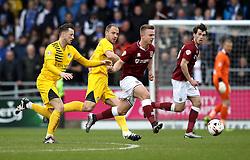 Sam Hoskins of Northampton Town passes the ball - Mandatory by-line: Robbie Stephenson/JMP - 09/04/2016 - FOOTBALL - Sixfields Stadium - Northampton, England - Northampton Town v Bristol Rovers - Sky Bet League Two