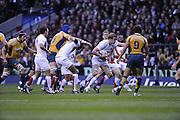 Twickenham, GREAT BRITAIN, Tom CROFT  the Investic Challenge, England vs Australia, Autumn International at Twickenham Stadium, Surrey on Sat 15.11.2008 [Photo, Peter Spurrier/Intersport-images]