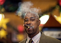 NBA Great Kenny Anderson poses for a portrait on location in Ft.Lauderdale,Fl.. on December 19,2012.<br /> (Photo/Tom DiPace)