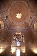 Gour Emir mausoleum . Timurids graves and coranic schools merdessa  Samarcand  Ouzbekistan  .///.Gour Emir mausolee de Tamerlan . tombeaux des timourides , ecole coranique  Samarcande  Ouzbekistan .///.OUZB56221