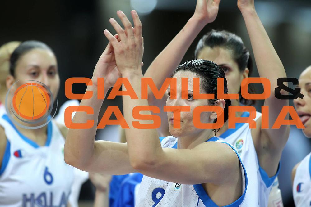 DESCRIZIONE : Katowice Poland Polonia Eurobasket Women 2011 Round 1 Grecia Francia Greece France<br /> GIOCATORE : Evanthia Maltsi<br /> SQUADRA : Grecia Greece<br /> EVENTO : Eurobasket Women 2011 Campionati Europei Donne 2011<br /> GARA : Grecia Francia Greece France<br /> DATA : 20/06/2011<br /> CATEGORIA : <br /> SPORT : Pallacanestro <br /> AUTORE : Agenzia Ciamillo-Castoria/E.Castoria<br /> Galleria : Eurobasket Women 2011<br /> Fotonotizia : Katowice Poland Polonia Eurobasket Women 2011 Round 1 Grecia Francia Greece France<br /> Predefinita :