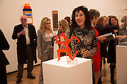 ELIZABETH DAVID, Gala Opening of RA Now. Royal Academy of Arts,  8 October 2012.