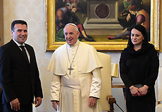 Pope Francis Meets With Zoran Zaev - 25 May 2018