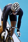 New Zealand's Adam Stewart rides in the Men's Keirin on day three of the XVIII Commonwealth Games, at the Multi Purpose Arena, Melbourne, Australia, Friday, March 17 2006. Photo: Sport the Library / www.photosport.nz